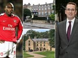 sol campbell clashes with labour mp owen smith over mansion tax